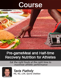 Pre-game Meal and Half-time Recovery Nutrition for Athletes