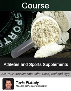 Athletes and Sports Supplements