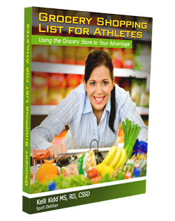 Grocery Shopping List for Athletes