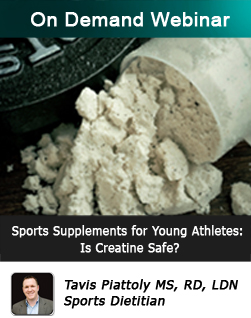 Sports Supplements for Young Athletes: Is Creatine Safe?