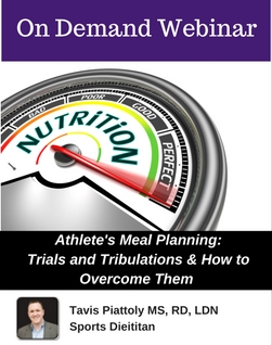 Athlete's Meal Plan: Trials and Tribulations of Creating