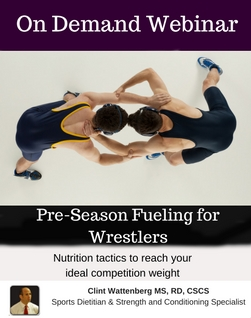 Pre-Season Fueling for Wrestlers