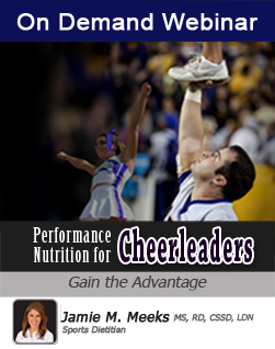 Performance Nutrition for Cheerleaders