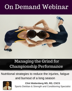 Managing the Grind for Championship Wrestling Performance