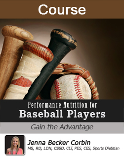 Performance Nutrition for Baseball Players