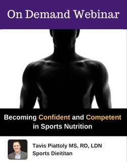 Becoming Confident and Competent in Sports Nutrition